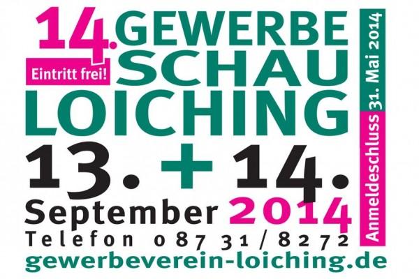 Gewerbeschau Loiching 13.-14. September